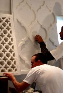 Spanish plaster grilles and ceilings