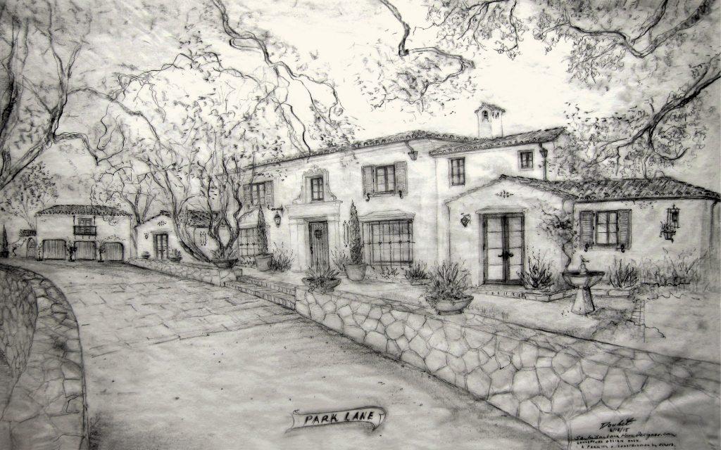 Jeff Doubet Spanish Colonial Revival design rendering