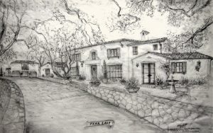 Jeff Doubet Spanish Colonial Revival design rendering